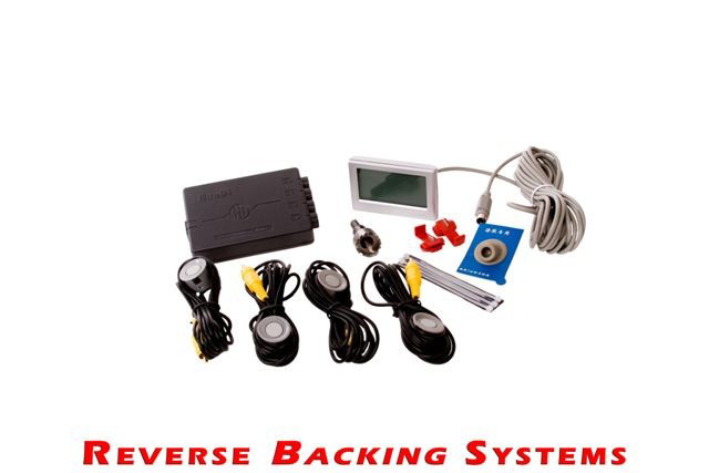 Reverse Backup Systems LCD Full Size Car & Truck Wireless Proximity Sensors