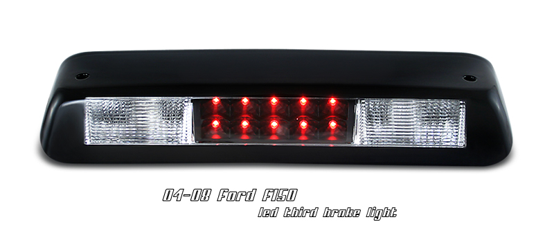 Ford F150 2004-2008 Black Housing LED 3rd Brake Light