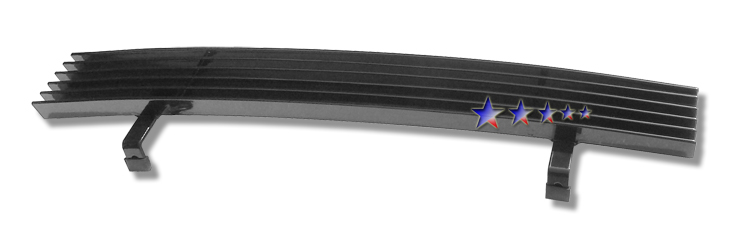 Ford Explorer  1995-1998 Black Powder Coated Lower Bumper Black Aluminum Billet Grille