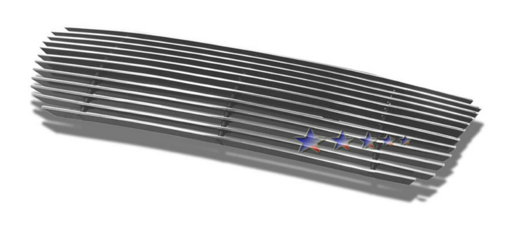 Ford Escape  2005-2007 Polished Lower Bumper Aluminum Billet Grille