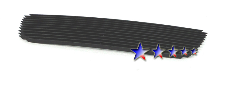 Ford Escape  2005-2007 Black Powder Coated Lower Bumper Black Aluminum Billet Grille