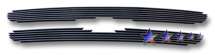 Ford Ranger  1998-2000 Polished Main Upper Aluminum Billet Grille
