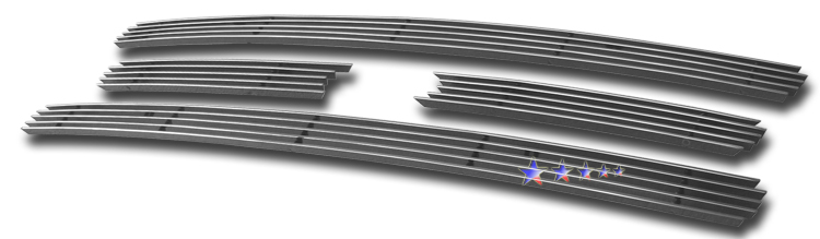Ford Expedition  2007-2012 Polished Main Upper Aluminum Billet Grille