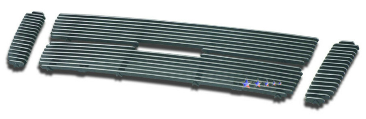 Ford Explorer Sport Trac  2001-2005 Polished Main Upper Aluminum Billet Grille