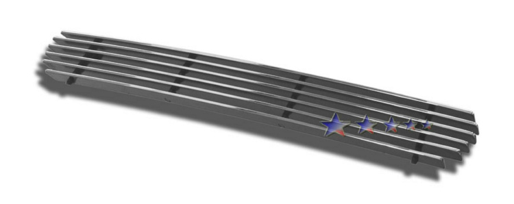Ford Econoline  1992-2007 Polished Lower Bumper Aluminum Billet Grille