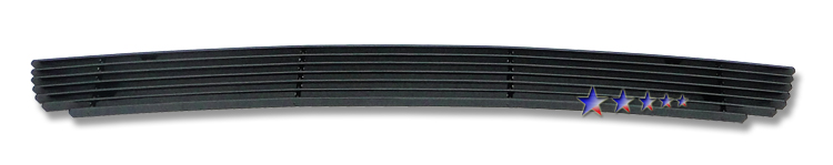 Ford Explorer  2006-2007 Black Powder Coated Lower Bumper Black Aluminum Billet Grille