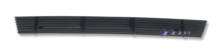 Ford F150  2006-2008 Black Powder Coated Lower Bumper Black Aluminum Billet Grille