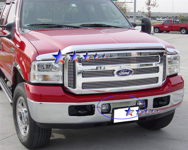 Ford F150  2006-2008 Polished Lower Bumper Stainless Steel Billet Grille