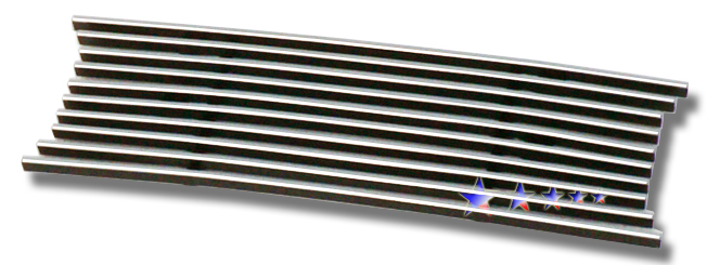 Ford Excursion  2005-2007 Polished Lower Bumper Stainless Steel Billet Grille