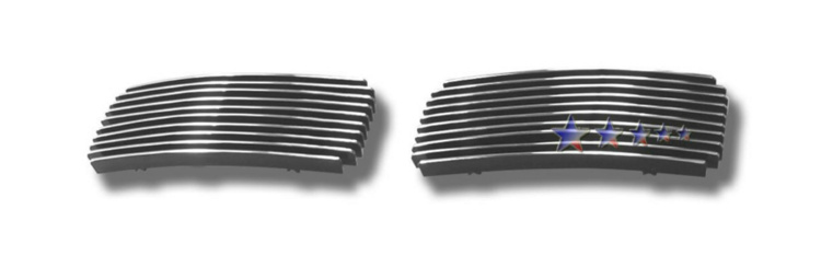Ford Super Duty  2005-2007 Polished Tow Hook Aluminum Billet Grille