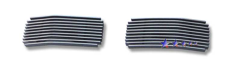 Ford Excursion  2005-2007 Polished Tow Hook Aluminum Billet Grille