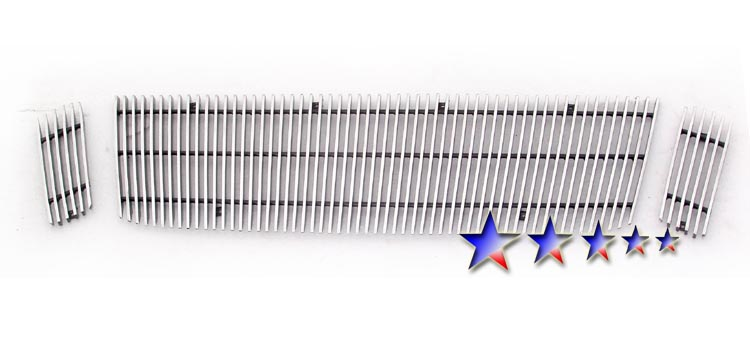 Ford Explorer Sport Trac  2007-2010 Polished Main Upper Aluminum Billet Grille