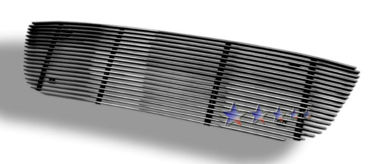 Ford F150  1999-2003 Polished Main Upper Aluminum Billet Grille