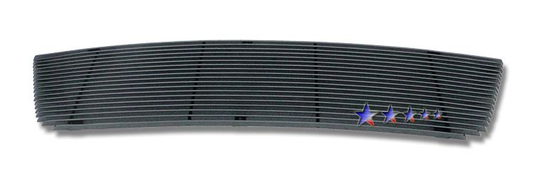 Ford Expedition  2003-2006 Black Powder Coated Main Upper Black Aluminum Billet Grille