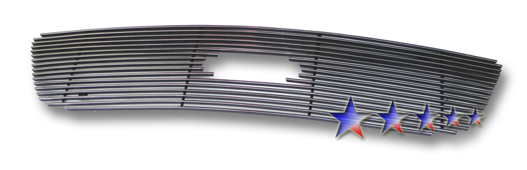 Ford F150 Harley Davidson 1999-2003 Polished Main Upper Stainless Steel Billet Grille