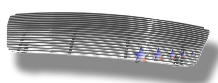 Ford F150  2004-2008 Polished Main Upper Aluminum Billet Grille
