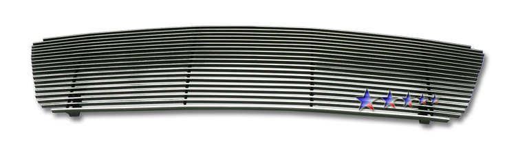 Ford F150  2004-2008 Polished Main Upper Stainless Steel Billet Grille