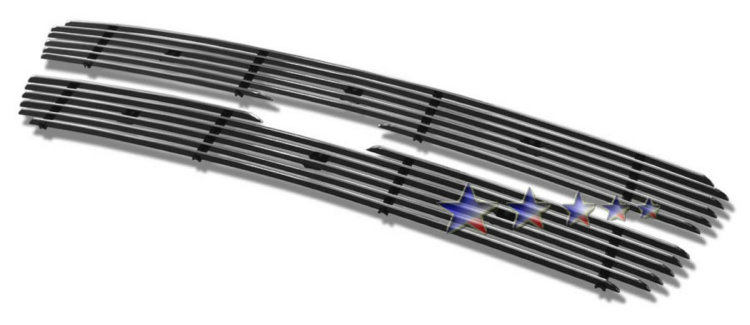 Ford Expedition  1997-1998 Polished Main Upper Aluminum Billet Grille