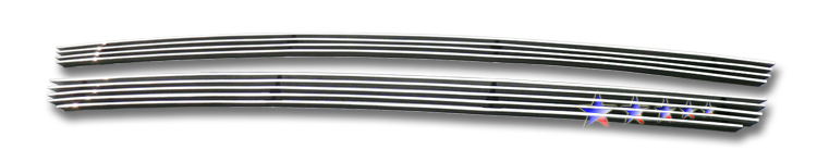 Ford Ranger 4wd 2004-2005 Polished Main Upper Aluminum Billet Grille