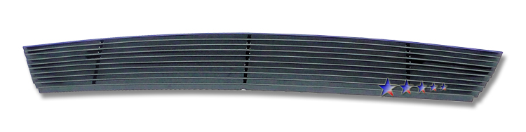 Ford Ranger  2004-2005 Black Powder Coated Lower Bumper Black Aluminum Billet Grille