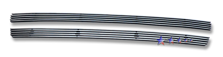 Ford Freestyle  2005-2006 Polished Lower Bumper Aluminum Billet Grille