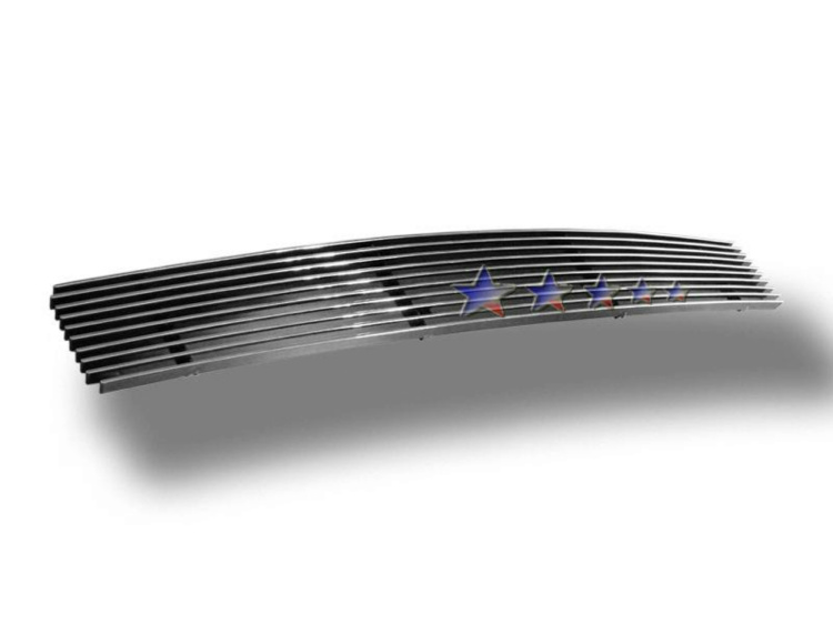 Ford Focus 01-04 Polished Aluminum Lower Front Grill