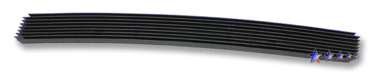 Ford Escape  2008-2012 Black Powder Coated Lower Bumper Black Aluminum Billet Grille