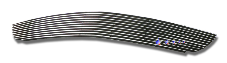 Ford Mustang Shelby Gt 500 2007-2009 Polished Lower Bumper Aluminum Billet Grille