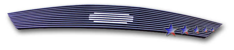 Ford Five Hundred  2005-2007 Polished Main Upper Aluminum Billet Grille