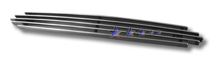 Ford Mustang  1999-2004 Polished Hood Scoop Aluminum Billet Grille