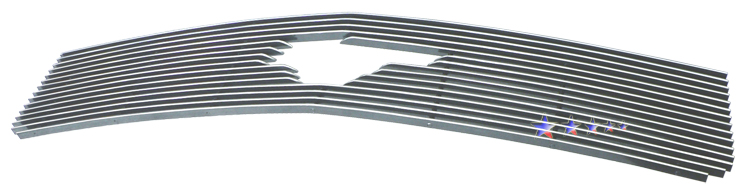 Ford Mustang  2005-2009 Polished Main Upper Aluminum Billet Grille