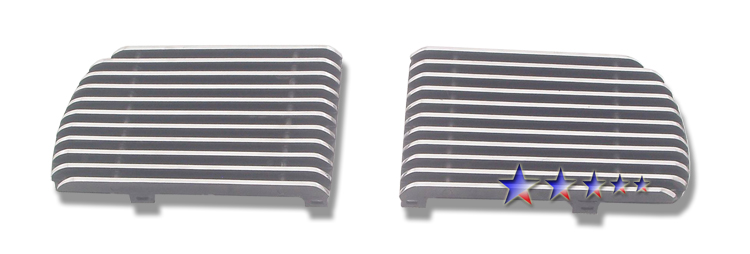 Ford Mustang  2010-2012 Polished Main Upper Aluminum Billet Grille
