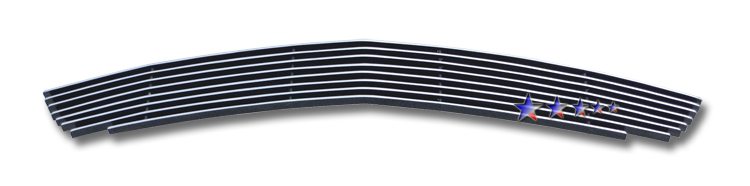 Ford Mustang  2010-2012 Polished Lower Bumper Aluminum Billet Grille