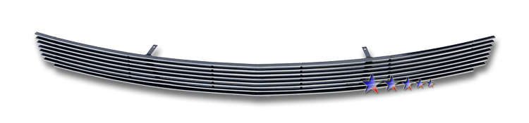 Ford Mustang Gt 2010-2012 Polished Lower Bumper Aluminum Billet Grille