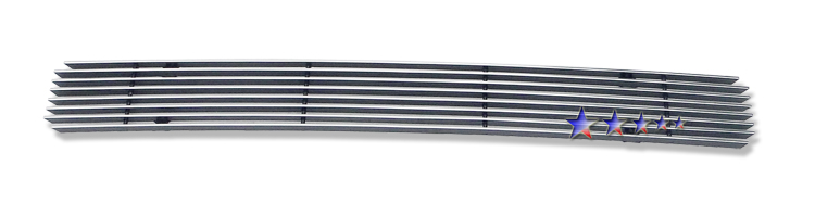 Ford E-Series  2008-2012 Polished Lower Bumper Aluminum Billet Grille