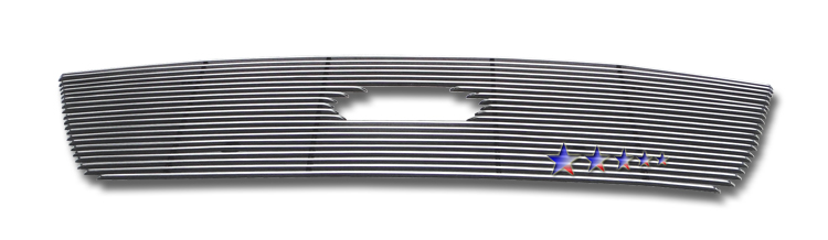 Ford  Econoline 09-10 Polished Aluminum Lower Front Grill