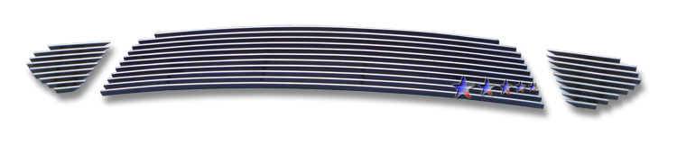 Ford Fusion Sport 2010-2012 Polished Lower Bumper Aluminum Billet Grille