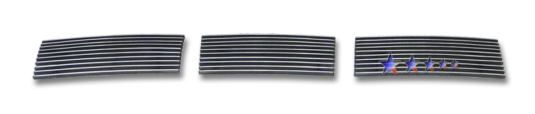 Ford Focus  2008-2011 Polished Lower Bumper Aluminum Billet Grille