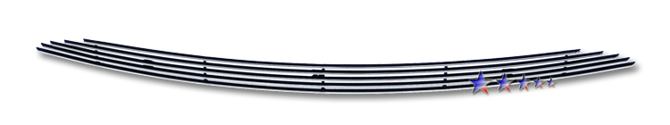 Ford Focus  2008-2011 Polished Main Upper Aluminum Billet Grille
