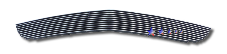 Ford Mustang Shelby Gt 500 2007-2009 Polished Main Upper Aluminum Billet Grille