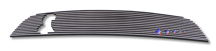 Ford Mustang Shelby Gt 500 2010-2012 Polished Main Upper Aluminum Billet Grille