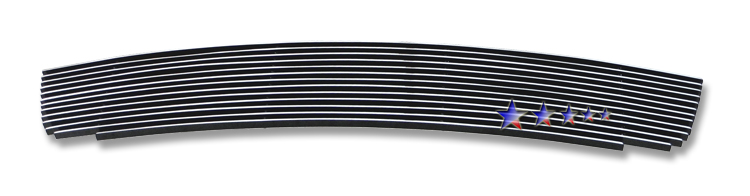 Ford Mustang Shelby Gt 500 2010-2012 Polished Lower Bumper Aluminum Billet Grille