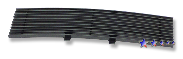 Ford F150  2009-2013 Black Powder Coated Lower Bumper Black Aluminum Billet Grille