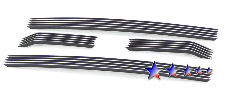 Ford Super Duty Sd Xlt/Lariat/King Ranch 2011-2012 Polished Main Upper Aluminum Billet Grille