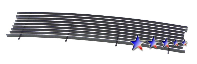 Ford Super Duty King Ranch 2011-2012 Polished Lower Bumper Aluminum Billet Grille