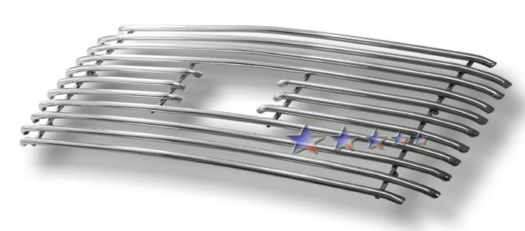 Ford Super Duty  1999-2004 Polished Main Upper Tubular Grille