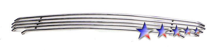 Ford F150 Harley Davidson 1999-2003 Polished Main Upper Tubular Grille