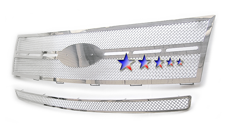 Ford Edge  2007-2010 Chrome Main Upper Mesh Grille