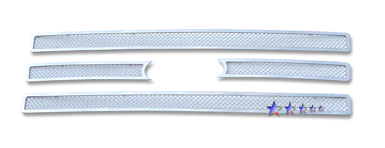 Ford Expedition  2007-2012 Chrome Main Upper Mesh Grille