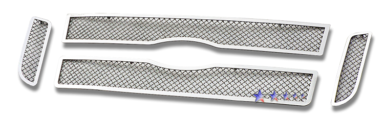 Ford Explorer Sport 2001-2003 Chrome Main Upper Mesh Grille
